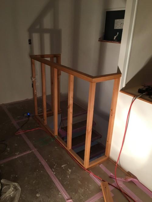 木製階段手摺
