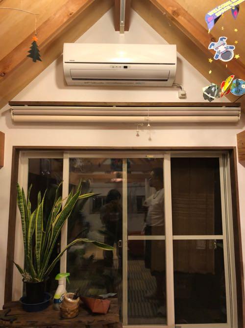 さいたま市のエアコン取り付け工事