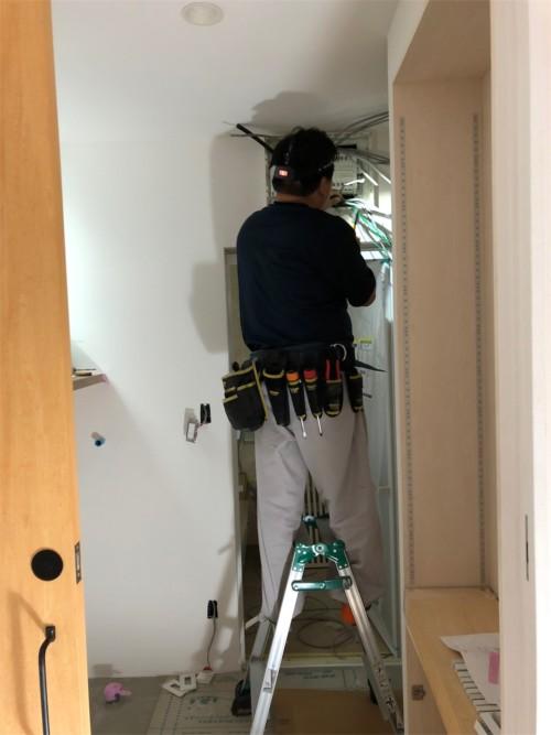 注文住宅電気工事