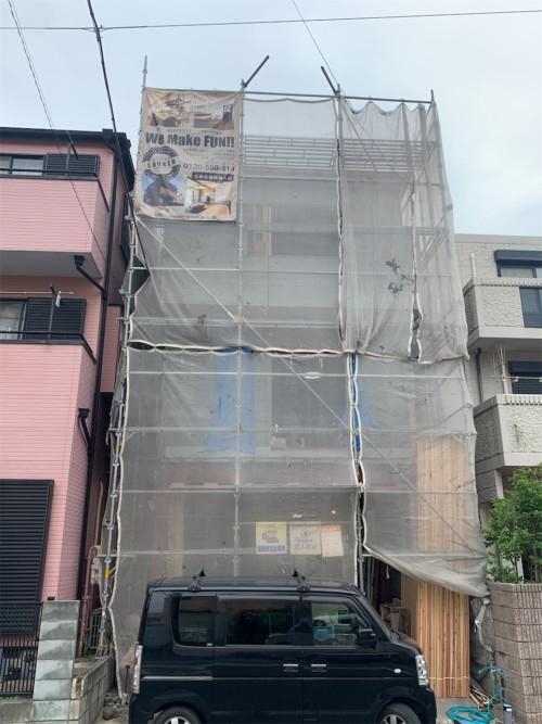 川口市の三階建リノベーション