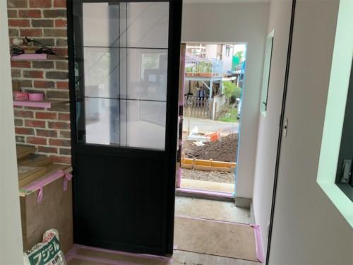 LDK入り口のドア